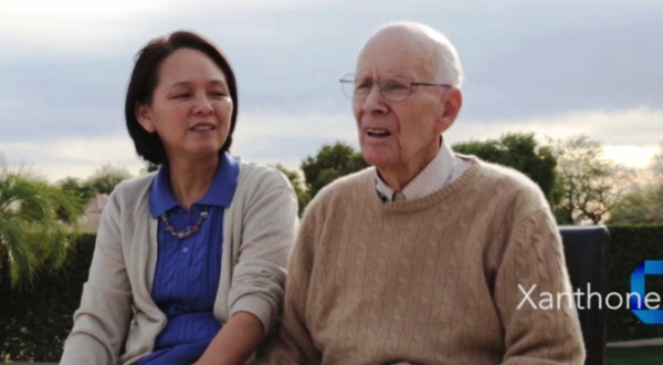 Florence Tung became Sidney Foulger's caregiver about a decade ago. In 2005, the two began an herbal remedy company which has since failed. (Photo taken from a promotional video for their supplement company)