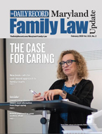 Professor Barbara Babb, the co-author of a new book on family law, teaches a class at the University of Baltimore School of Law, where she directs the Sayra and Neil Meyerhoff Center for Families, Children and the Courts. (Courtesy photo)