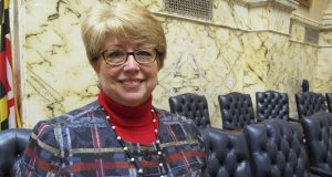 Del. Kathleen Dumais, D-Montgomery, says the focus on pandemic relief and police reform occupied lawmakers and derailed some family law proposals from gaining approval. (AP Photo/Brian Whitte)