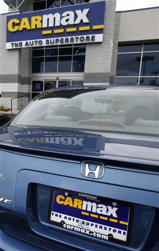 carmax 2q profit rises on used car sales maryland daily record. Black Bedroom Furniture Sets. Home Design Ideas