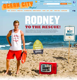 """Rodney the Lifeguard, the fictitious """"spokesguard"""" for Ocean City, just ended his second season at the head of a campaign being credited with boosting summer tourism numbers."""