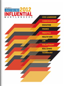 Influential Marylanders cover image 2012