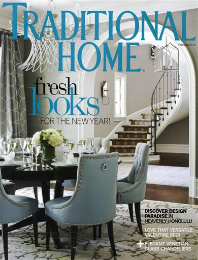 Luxury home magazines get facelifts maryland daily record for Luxury home design magazine
