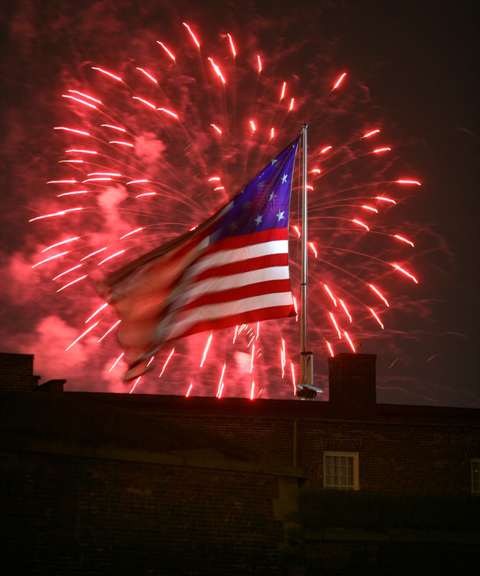 By Rockets Red Glare >> Photo Of The Day And The Rockets Red Glare Maryland Daily Record