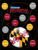 Influential Marylanders cover image 2011