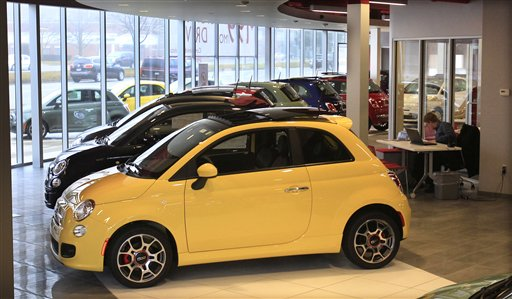 auto sales surge in march led by small cars maryland daily record. Black Bedroom Furniture Sets. Home Design Ideas