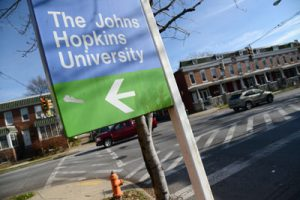 Hopkins pledges $10M to surrounding communities
