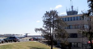 The air traffic control tower at Martin State Airport, which is operated by Kansas-based contractor Midwest Air Traffic Control Service Inc., is one of five towers scheduled to close as part of budget cuts to the Federal Aviation Administration.