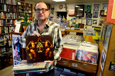 stacks of wax record store day means business for local music shops maryland daily record. Black Bedroom Furniture Sets. Home Design Ideas