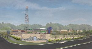 Rendering of Royal Farms site