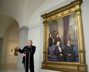 Photo of the Supreme Court Women Painting