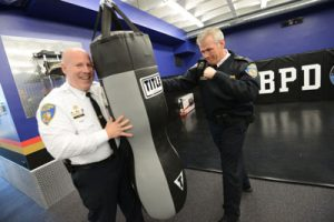 Police gym packs a punch