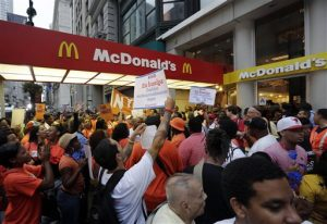 Fast Food Protests
