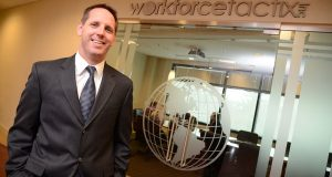 'Brokers are doing well,' says David Noel, vice president at WorkforceTactix and president of the Maryland Association of Health Underwriters. (The Daily Record/Maximilian Franz)