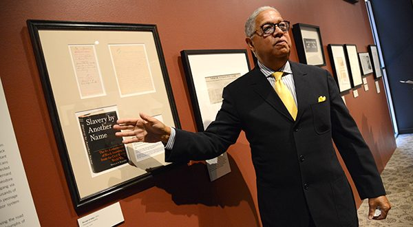 The Kinsey Collection tour at the Reginald F. Lewis Museum of African American History drew record numbers in February. (Maximilian Franz/The Daily Record)
