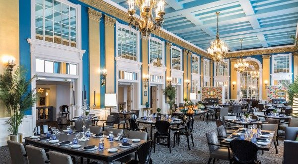 "The historic Lord Baltimore Hotel whas been recognized as one of the winners of the ""Best Historic Hotel"" category in the 10Best Readers' Choice travel award contest sponsored by USA Today. (Photo courtesy Lord Baltimore Hotel)"
