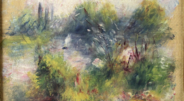 Long-lost Renoir piece returns to Baltimore museum