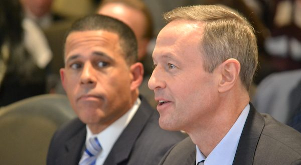 Martin O'Malley, Anthony Brown