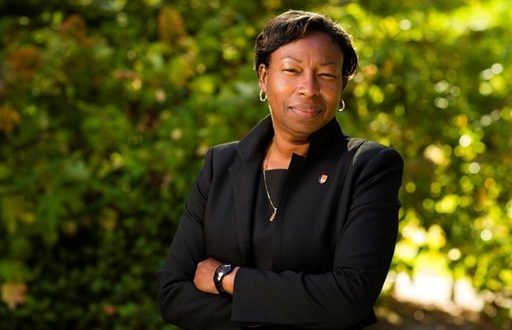 St. Mary's College of Maryland has named Tuajuanda Jordan, a dean and scientist from Lewis and Clark College, as the school's next president. (AP Photo/Steve Hambuchen, St. Mary's College)