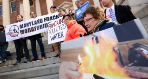 A looming deadline for a state report on Marcellus Shale drilling should be pushed back, according to environmental activists and members of a state commission tasked with studying the issue. (The Daily Record/Maximilian Franz)