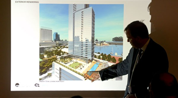 Design panel praises Baltimore skyscraper plan