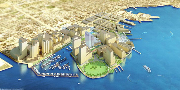 Harbor Point rendering