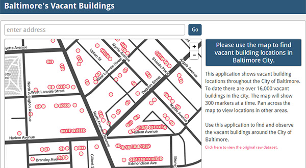 New Baltimore-owned vacant property map released