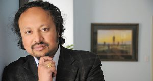 Anirban Basu, chairman and chief executive officer of Sage Policy Group. (The Daily Record/Maximilian Franz)