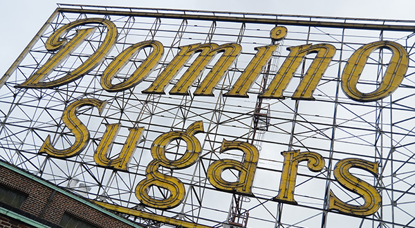 Domino Sugar takes iconic Baltimore sign solar