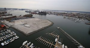 Exelon will build their regional headquarters in Harbor East. (The Daily Record/Maximilian Franz)