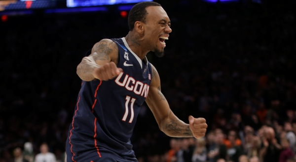 When Ryan Boatright and his UConn teammates toasted their berth in the Final Four on Sunday in the locker room, they had better been drinking out of NCAA-sanctioned cups.
