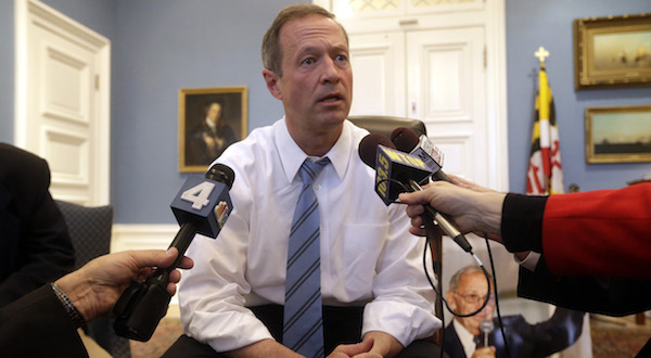 Where O'Malley is positioned for 2016 presidential run