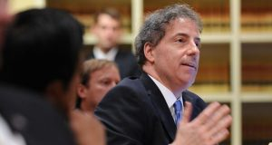 "Del. Joseline A. Pena-Melnyk, a lead sponsor of the anti-waiver provision in 2011, and Sen. Jamin B. ""Jamie"" Raskin (pictured) praised the high court's statements regarding Maryland's strong public policy of wage protection. (The Daily Record/Maximilian Franz)"