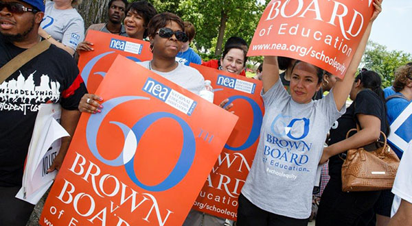 Brown at 60: Equality in schools, if not prose