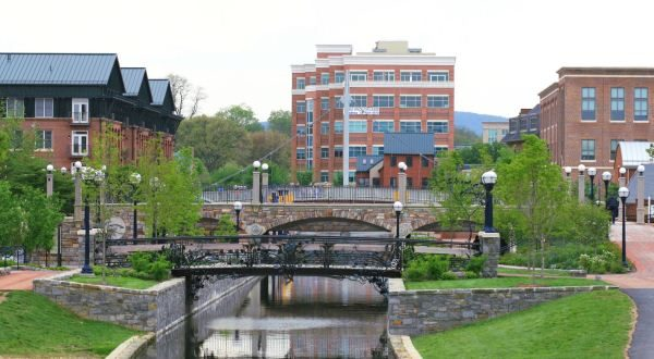 Carroll Creek, Frederick