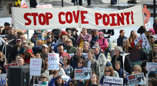 Environmental activists file SEC complaint over Cove Point gas facility
