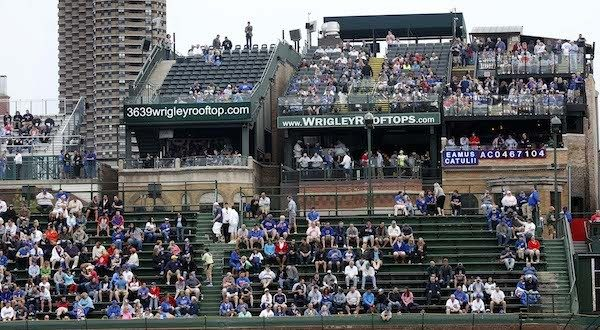 Cubs Wrigley Field Baseball