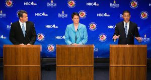 Candidates reveal differences on tax, business issues