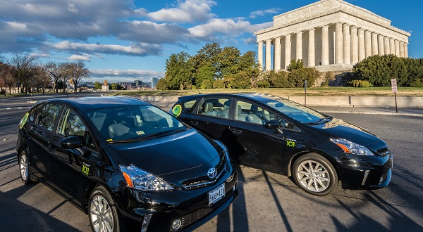 London-based green sedan service debuts in Washington metro