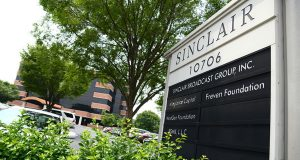 Sinclair Broadcast Group building in Hunt Valley. (File photo)