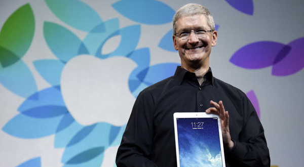Under CEO Cook, Apple thinks different