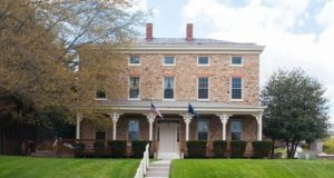 Trentham Mansion in Owings Mills dates back to 1747. (Courtesy Alex Cooper Auctioneers Inc.)