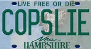 COPSLIE license plate