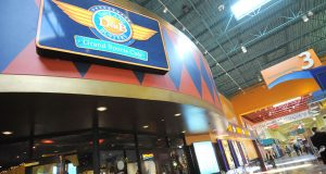 Dave and Buster's Restaurant and Sports Bar in Arundel Mills Mall features recreational gaming devices. (The Daily Record/Maximilian Franz)