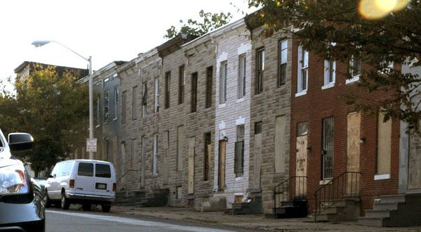 """Baltimore's efforts to get Makowski's property at 900-902 N. Chester St. began in April 2011 with the city sending him a """"Notice of Intent to Acquire."""" (The Daily Record/Maximilian Franz)"""
