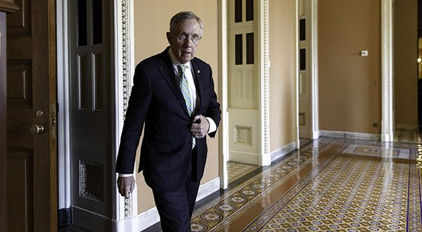 After changing Senate rules to speed President Barack Obama's nominees through the Senate, Senate Majority Leader Harry Reid has started demanding 60-vote majorities for virtually everything else, most recently to deny Republican leader Mitch McConnell a chance to block rules limiting carbon emissions. (AP Photo/J. Scott Applewhite, File)