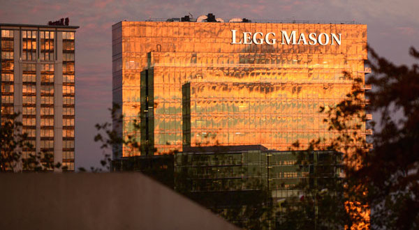 Legg Mason's assets up in July