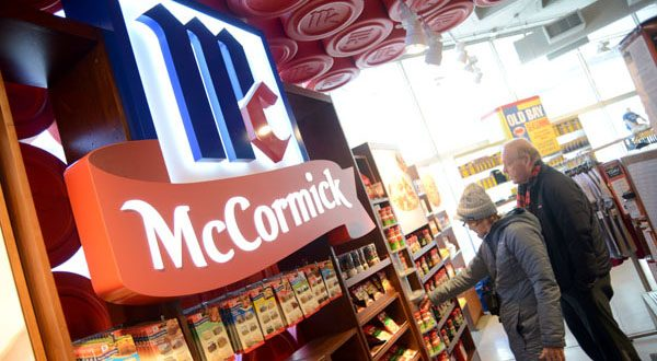 Christine and Andy Fowler, of Berlin, Maryland, browse in the McCormick World of Flavors store in the Light Street Pavilion at the Baltimore Harborplace. (File photo)