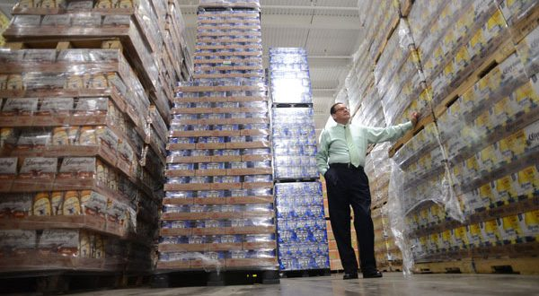 Gus Montes de Oca, chief of operations at the Montgomery County Department of Liquor Control, is at the department's warehouse facility in Gaithersburg. (The Daily Record/Maximilian Franz)