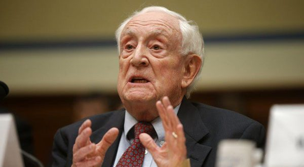 Gerald I. Krafsur, an administrative law judge from, Kingsport, Tennessee, defends his handling of Social Security disability claims during a congressional hearing Tuesday. (AP Photo)